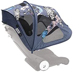 Protect Against the Sun Without Blocking the Breeze!   With a Bugaboo Breezy Sun Canopy, you and your little one will be ready to beat the heat! Our extendable design instantly provides a shady cover that offers UPF 50+ protection. Not only ...