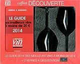 Coffret découverte RVF : guide rouge à moins de 20 euros + 2 verres chef & sommelier