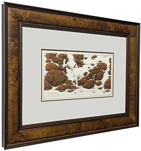 Art Signed Matted Print - Bev Doolittle - Pintos Hide & Seek art print