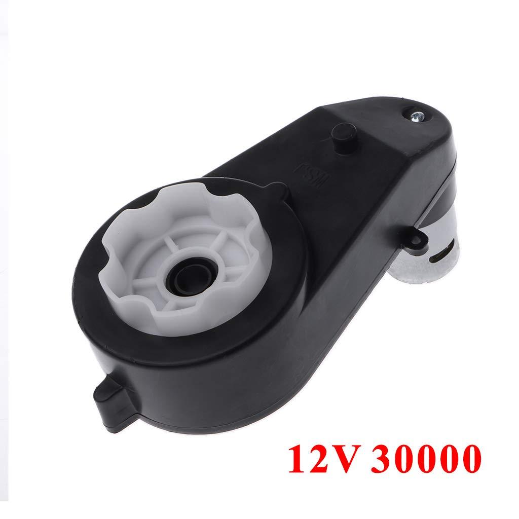 YoungerY 1 ud. 550 Accesorios el/éctricos universales para ni/ños Cochecito Caja de Engranajes del Motor del Metal - Negro 12V30000