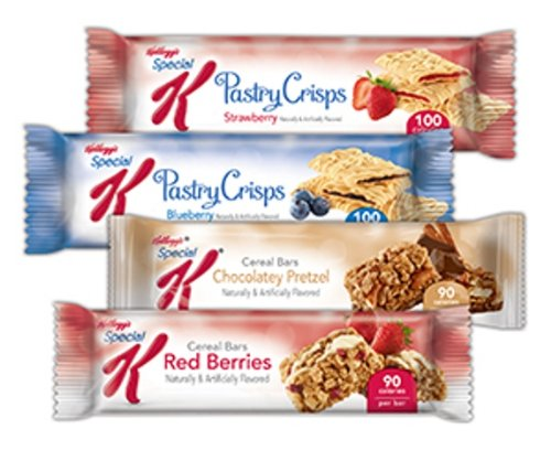 Special K Variety  Bars Case, 0.77-0.88 Ounce Bars (Pack of (Pretzel Display Case)