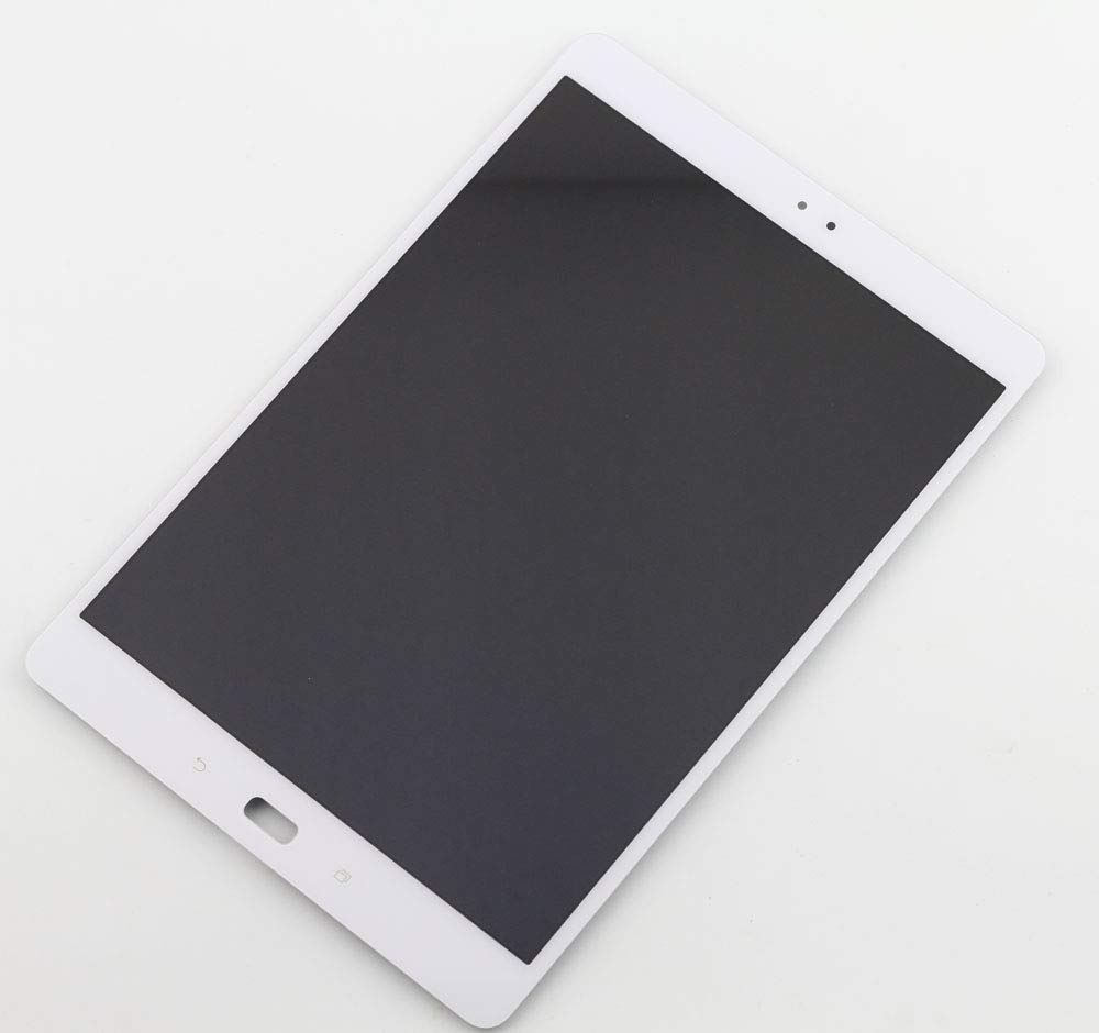 XQ - LCD Display + Touch Screen Digitizer Assembly Black/White for 9.7'' Asus ZenPad 3S 10 Z500M Replacement (White)