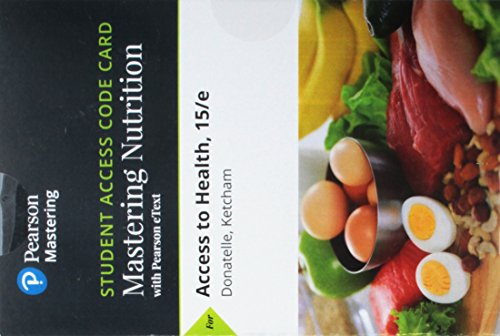 Mastering Health with Pearson eText -- Standalone Access Card -- for Access to Health (15th Edition)