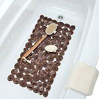 Stepping Stones Bath Mat - Chocolate