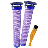 likeclean 2 Pack Pre Filter for Dyson DC58 DC59 V6 V7 V8 Vacuum Cleaners, Replacements Part# 965661-01. 2 Filters