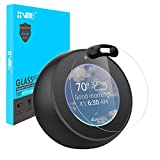 VMEI Screen Protector for Echo Spot -Protect The Echo Spot's Screen, Remove Residual Fingerprints and Protect The Privacy of Users.Designed (Black)