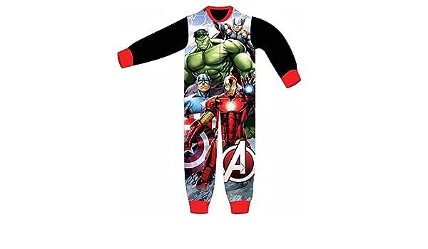Avengers - Pijama dos piezas - para niño negro 3/4 Años (104 cm: Amazon.es: Ropa y accesorios