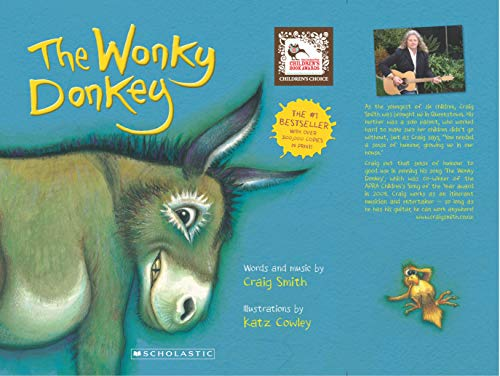 Book cover from Wonky Donkey by Craig Smith