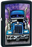 Truck Zippo Outdoor Indoor Windproof Lighter Free Custom Personalized Engraved Message Permanent Lifetime Engraving on Backside
