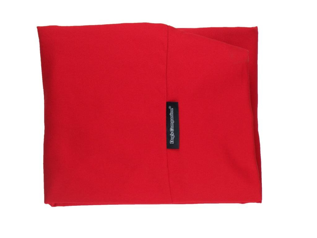 Super Large Dog's Companion Canvas Cover Dog Bed Superlarge Red
