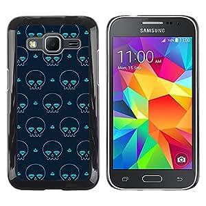 rígido protector delgado Shell Prima Delgada Casa Carcasa Funda Case Bandera Cover Armor para Samsung Galaxy Core Prime SM-G360 -Skate Poker Street Art Cards-