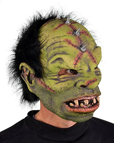 Zagone Studios MD1012 Natural Latex Compound Orc The Ogre Mask (Orc Latex Mask)