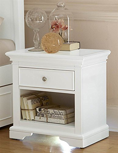 Nightstand in White by NE Kids