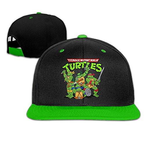GlyndaHoa Biotio Teenage Mutant Ninja Turtles Adjustable Snapback