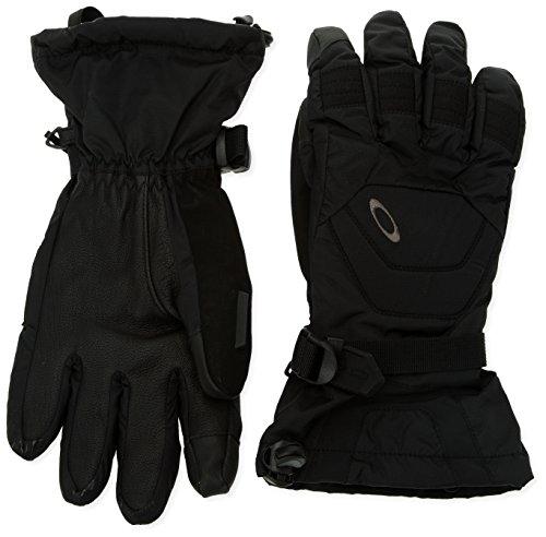 Oakley Men's Rafter Gloves, Black, Large