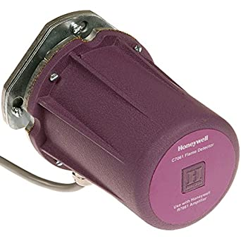 Honeywell, Inc. C7061A1012 C7061 Dynamic Self-Check Ultraviolet Flame Detecto: Electronic Components: Amazon.com: Industrial & Scientific
