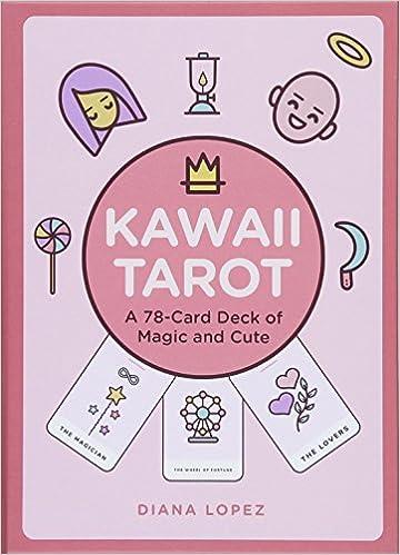 amazon kawaii tarot a 78 card deck of magic and cute diana