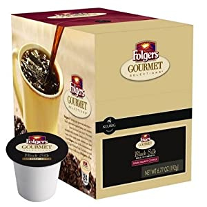 Folgers Gourmet Selections Black Silk Coffee K-Cups