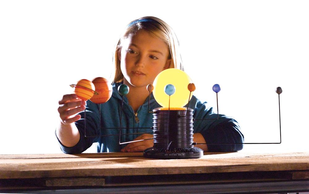 Educational Science Motorized Solar System Earth Planets