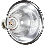 Zilla 11985 5-1/2-Inch Reflector Dome for upto 60-Watt Bulbs, Silver