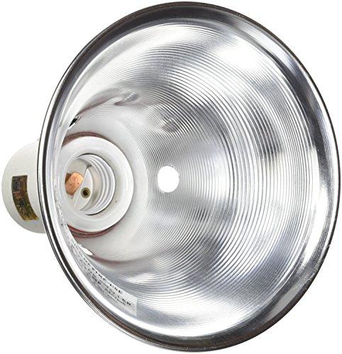 Zilla Reptile Terrarium Heat Lamps & Habitat Lighting Dome, Slv 5.5-in