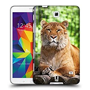 Head Case Designs Siberian Liger Famous Animals Protective Snap-on Hard Back Case Cover for Samsung Galaxy Tab 4 8.0 T330 T331 T335