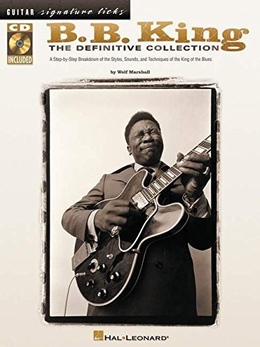 B.B. King - The Definitive Collection Guitar Signature Licks by ...