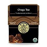 Chaga Tea - Powerful Antioxidants, Wild Harvested, Caffeine Free - 18 Bleach Free Te..