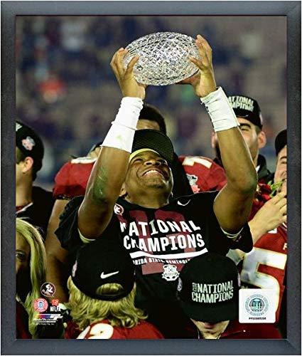 - NCAA Jameis Winston Florida State Seminoles 2014 BCS Championship Trophy Photo (Size: 17