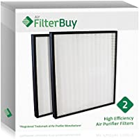 2 - FilterBuy Hunter 30940 Replacement Filters. Designed by FilterBuy to fit Hunter Air Purifier Series 30210, 30214, 30215, 30216, 30225, 30260, 30398, 30400 & 30401.