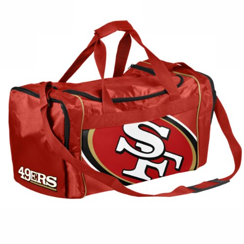 Forever Collectibles NFL San Francisco 49Ers Core Duffle Bag by Forever Collectibles (Image #1)