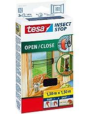 Tesa Insect Stop Comfort Vliegengaas voor ramen, op maat te snijden, met klittenband om te lijmen