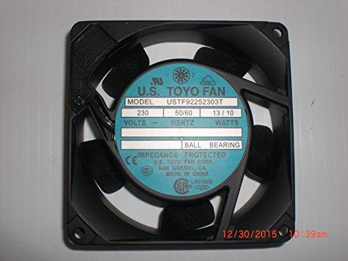 US TOYO FAN USTF92252303T 9 x9mm ()