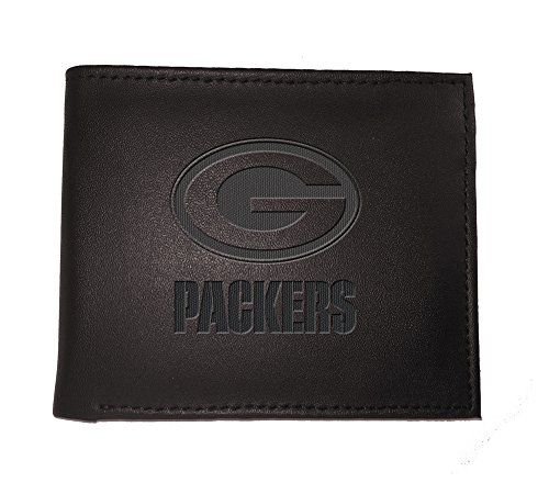 Team Sports America NFL Green Bay Packers 7WLTB3811Wallet, Bi-Fold, Green Bay Packers, Black by Team Sports America