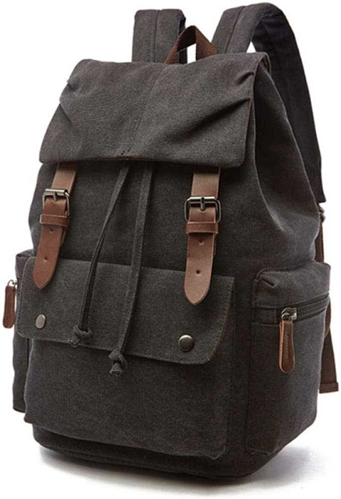 Laptop Rucksack Mens and Womens Waterproof Solid Back Page Best Laptop Backpack