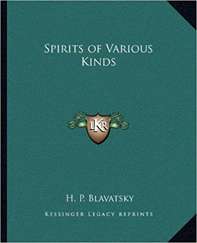 Book Spirits of Various Kinds by Helena Petrovna Blavatsky (2010-09-10)