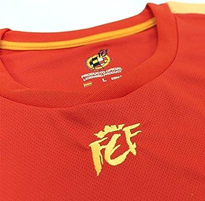 Camiseta Replica Oficial Federación Española de Futbol 2018 (XL): Amazon.es: Deportes y aire libre