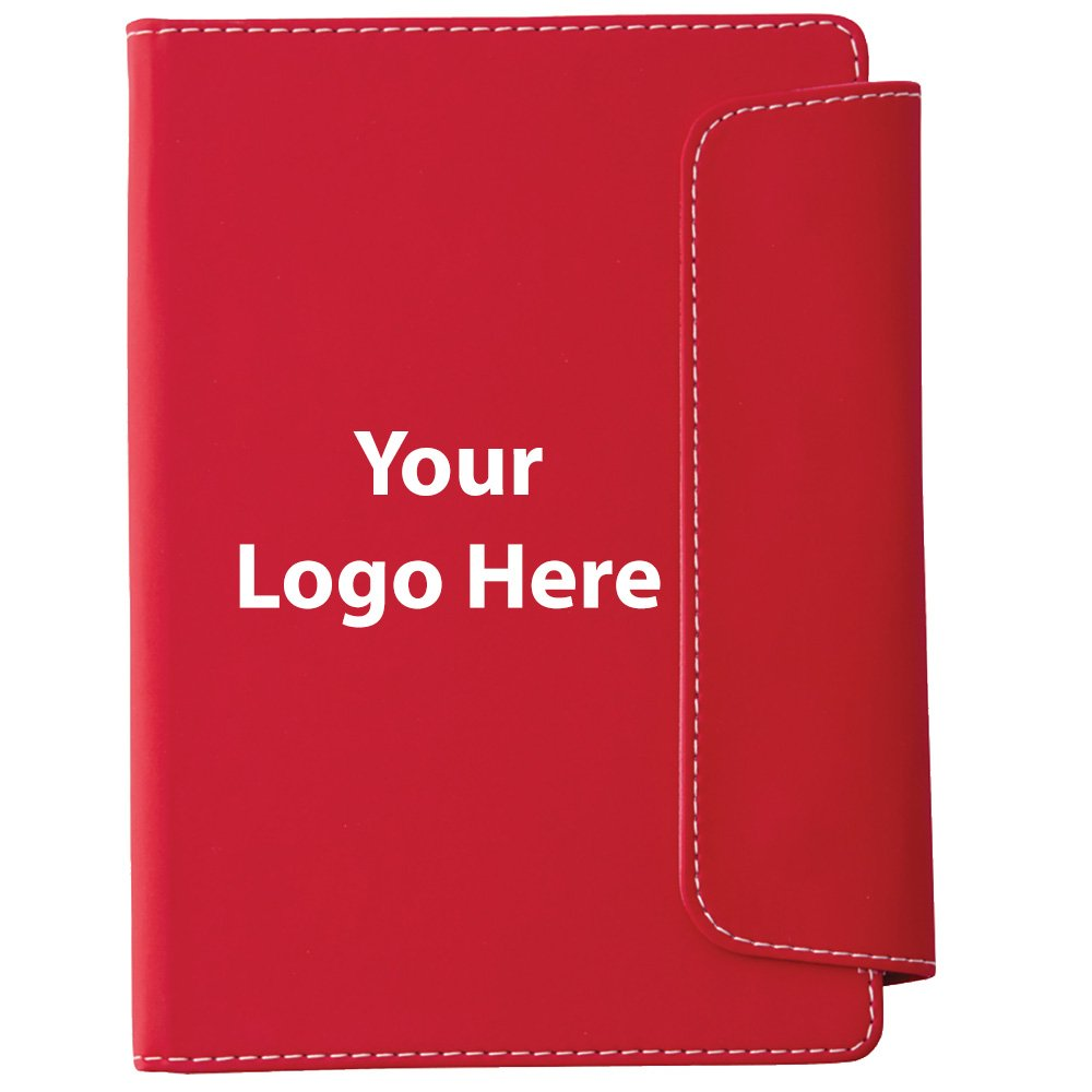 Horsens Notebook with Pen Stylus - 100 Quantity - $3.45 Each - PROMOTIONAL PRODUCT / BULK / BRANDED with YOUR LOGO / CUSTOMIZED
