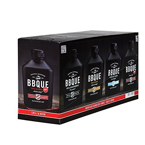 """BBQUE Bayrische Barbecue Sauce""""Chili & Kren""""   6er Pack"""