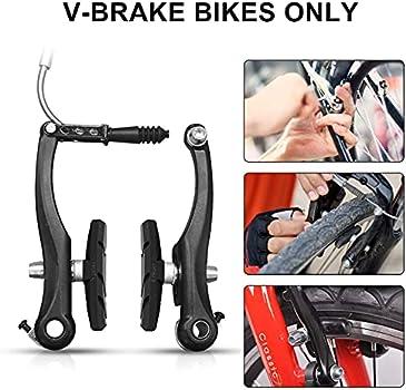 Details about  /1 Pair Bicycle Brake Pads Skid Blocks Mountain Bike MTB Durable Accessories US