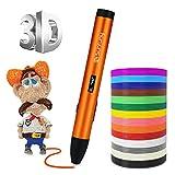 Sunfuny 3D Printing Pen, Three mode 3D Printer Doodler Pen for ABS PCL