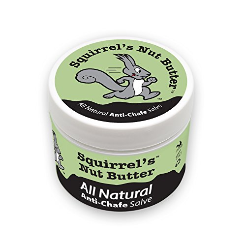 Squirrel's Nut Butter All Natural Anti Chafe Salve, Tub (2 oz)
