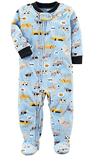 Carters Baby Boys 1 Pc Fleece 327g106 (Blue Dogs, 6 Months) (Infant Puppy)