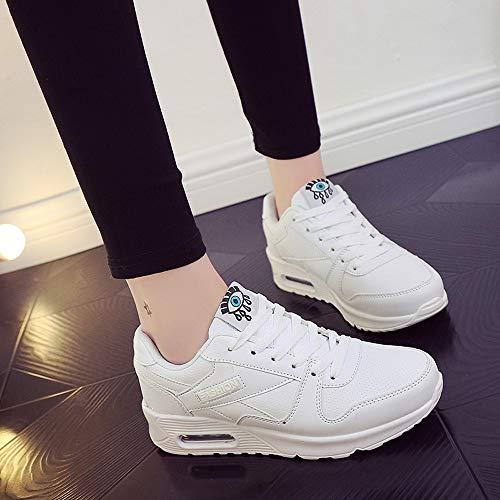 Mode Damen Outdoor Weiß Lace Schuhe schuhe Sneaker Damen Wanderschuhe Schuh Milktea up Wohnungen Damen Freizeitschuhe Stiefel IZqdxw8