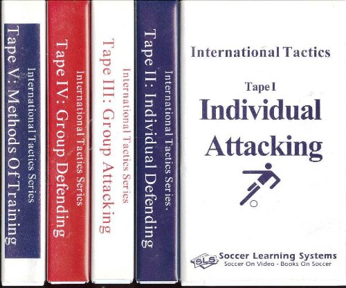 Method 2 Video Set Vhs (International Tactics Series: Complete Soccer Learning Systems 5-Volume Video Set (Tape I: Individual Attacking; Tape II: Individual Defending; Tape III: Group Attacking; Tape IV: Group Defending; Tape V: Methods of)