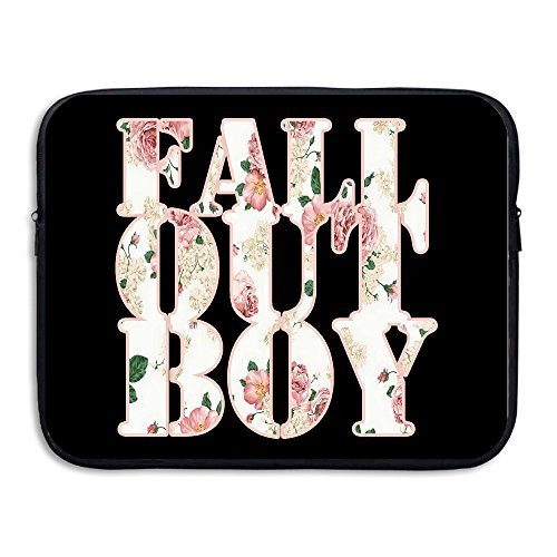 [CYANY FOB Rock Band Music Logo FLORAL Waterproof Notebook Protective Cover Bag Size 15 Inch] (Costume Ideas For Day Of The Dead)