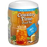 Country Time Tea, Sweet, 18.3 Ounce (Pack of 12)