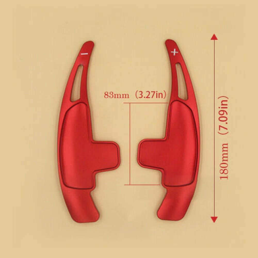 JXSMBP Accessoires de Garniture de Palette de Commande au Volant./pour Mercedes AMG C63 CLA45 S63 A45 G W204