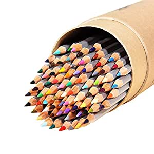 Ohuhu 48-color Colored Pencils/ Drawing Pencils for Sketch/Secret Garden Coloring Book(Not Included)