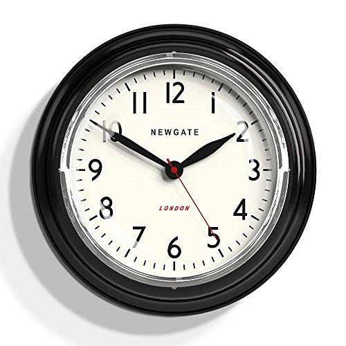 Newgate Mini Cookhouse Kettle Wall Clock Black